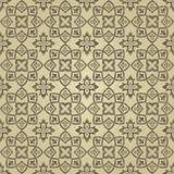 S?ml?s guld- damast design f?r dekor, textil, tyg, keramiskt, tapet eller bakgrund royaltyfri illustrationer
