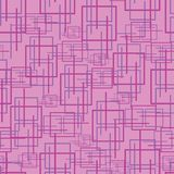 Sömlös härlig abstrakt geometrisk vektor royaltyfri illustrationer