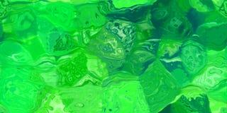 Sömlös horisontaltextur med abstrakt begrepp färgade målarfärg i stora färgrika slaglängder Arkivfoton