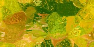 Sömlös horisontaltextur med abstrakt begrepp färgade målarfärg i stora färgrika slaglängder Royaltyfria Foton