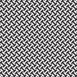 Sömlös intermeshing geometrisk modellbakgrund stock illustrationer