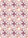 Sömlös islamisk geometri Arkivbild