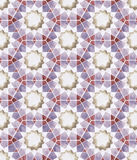 Sömlös islamisk geometri Royaltyfri Bild