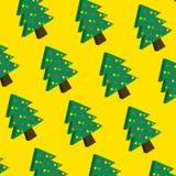 Sömlös julmodell för vektor Fotografering för Bildbyråer