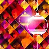 Sömlös jultextur kan användas i räkningsdesign Arkivfoto