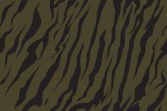 Sömlös kamouflagemodelltiger Kakigräsplantextur, vektorillustration vektor illustrationer