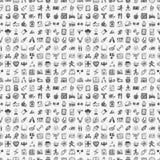 Sömlös klotterkonditionmodell Arkivbilder