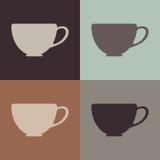 Sömlös koppbakgrund Fotografering för Bildbyråer
