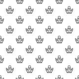 Sömlös kundkvarhållandemodell royaltyfri illustrationer