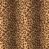 Sömlös leopardbakgrund Royaltyfria Bilder