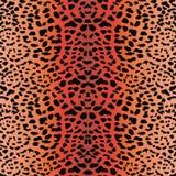 Sömlös leopardbakgrund Arkivbilder