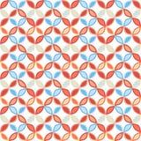Sömlös ljus geometrisk cirkelmodell Royaltyfri Fotografi