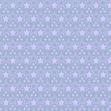 Sömlös mönstrad bakgrund för stjärnor Royaltyfria Bilder