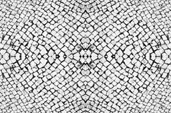 Sömlös mönstrad textur av stenläggningstenar, ljus vit bakgrund royaltyfri fotografi