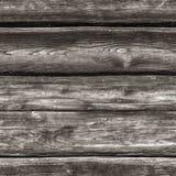SÖMLÖS mörk grå träbakgrund Royaltyfri Bild