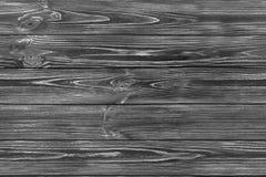 SÖMLÖS mörk grå träbakgrund Arkivfoto
