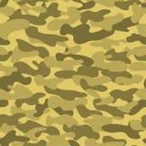 Sömlös militär kamouflagetextur Royaltyfria Bilder