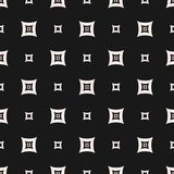Sömlös modell, abstrakt geometrisk textur med enkla rundade små fyrkanter Royaltyfria Foton
