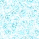 SÖMLÖS modell av blåa pionblomningar Arkivfoton
