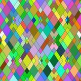 Sömlös modell av geometriska former rhombuses Geometrisk backg Arkivfoto