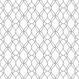 Sömlös modell av linjer Geometrisk bandbakgrund royaltyfri illustrationer