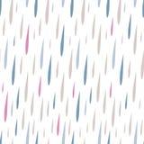Sömlös modell av regndroppar royaltyfri illustrationer
