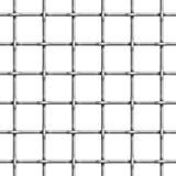 Sömlös modell av stänger för arrestcell Vektorillustration av metallfängelseburen stock illustrationer