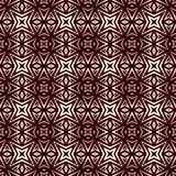 Sömlös modell för översikt med geometriska diagram Upprepad stiliserad abstrakt bakgrund för stjärnor Etniskt och stam- motiv Arkivbilder