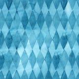 Sömlös modell för abstrakt begrepp för vattenfärgblåttromb stock illustrationer