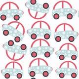 Sömlös modell för abstrakt bilbarn Det lokaliseras i provkartamän Arkivbild