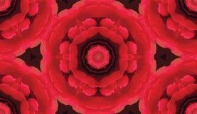 Sömlös modell för abstrakt färgrik kalejdoskop Geometrisk blom- vektorbakgrund Grafisk provkarta för mosaisk azulejomandala royaltyfri illustrationer