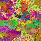 Sömlös modell för abstrakt färgrik kamouflage Royaltyfria Foton