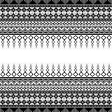 Sömlös modell för abstrakt textur Royaltyfria Bilder