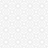 Sömlös modell för arabisk prydnad Arkivfoto