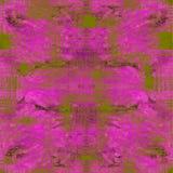 Sömlös modell för bandfärg Hand dragit shiboritryck Arkivfoton