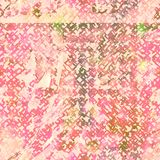 Sömlös modell för bandfärg Hand dragit shiboritryck Royaltyfri Foto