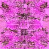 Sömlös modell för bandfärg Hand dragit shiboritryck Royaltyfria Foton