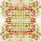 Sömlös modell för bandfärg Hand dragit shiboritryck Arkivfoto