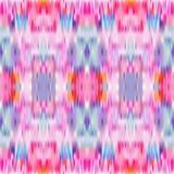 Sömlös modell för bandfärg Vektorikatbakgrund Kulört abstrakt tryck för pastell stock illustrationer