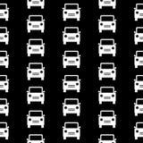 Sömlös modell för bilsymbol Royaltyfri Bild