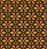 Sömlös modell för dekorativ blommavictorian Blom- abstrakt textur för vektor stock illustrationer