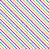 Sömlös modell för diagonalt band royaltyfri illustrationer