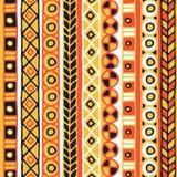 Sömlös modell för etnicitet Boho stil etnisk wallpaper Stam- konsttryck Gammalt abstrakt begrepp gränsar bakgrundstextur Royaltyfri Fotografi