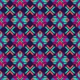 Sömlös modell för etnisk boho traditionell prydnad geometrisk bakgrund stam- modell Folk motiv vektor illustrationer