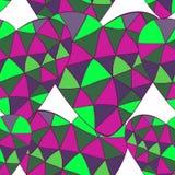 Sömlös modell för färgrik vektor av härliga hjärtor De bästa för dag, bröllop och födelsedag för valentin` s planlägger vektor illustrationer