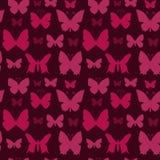 Sömlös modell för fjärilar Fotografering för Bildbyråer