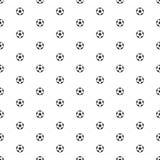 Sömlös modell för fotbollboll royaltyfri illustrationer