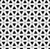 Sömlös modell för geometrisk blomma Royaltyfri Bild
