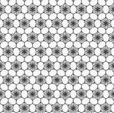 Sömlös modell för geometrisk blomma Royaltyfria Foton