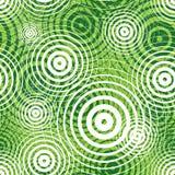 Sömlös modell för grön krusning royaltyfri illustrationer